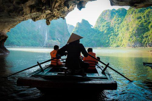 alone in a boat